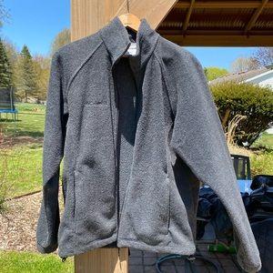 Gray Columbia Fleece Jacket